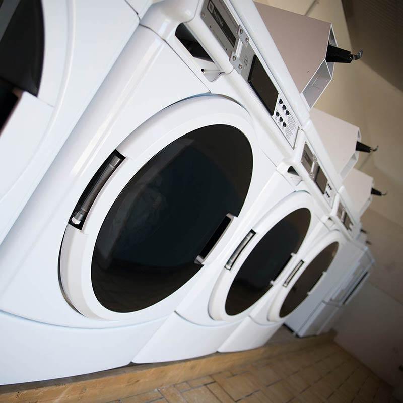 machines à laver du camping