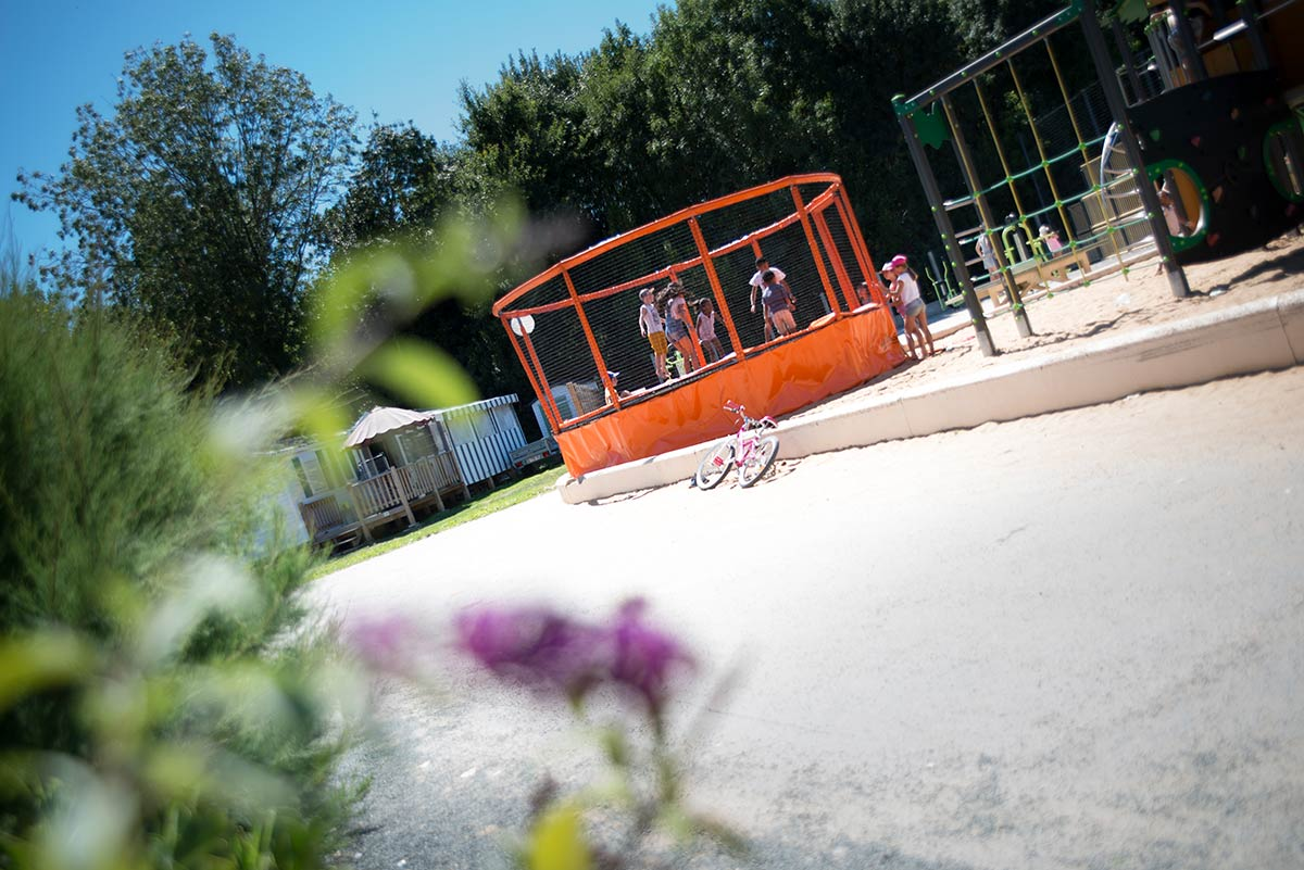 trampoline club enfants