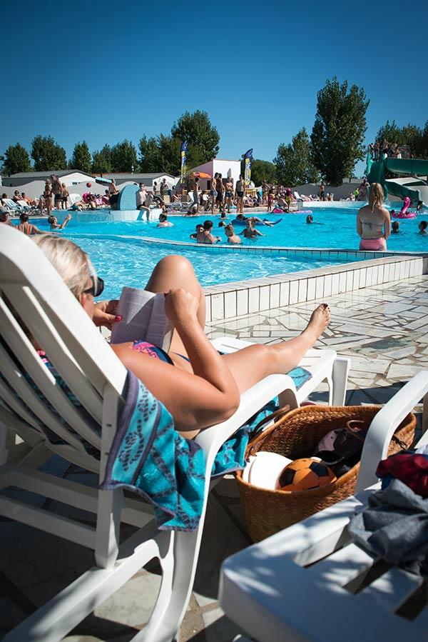 bain de soleil camping en vendée