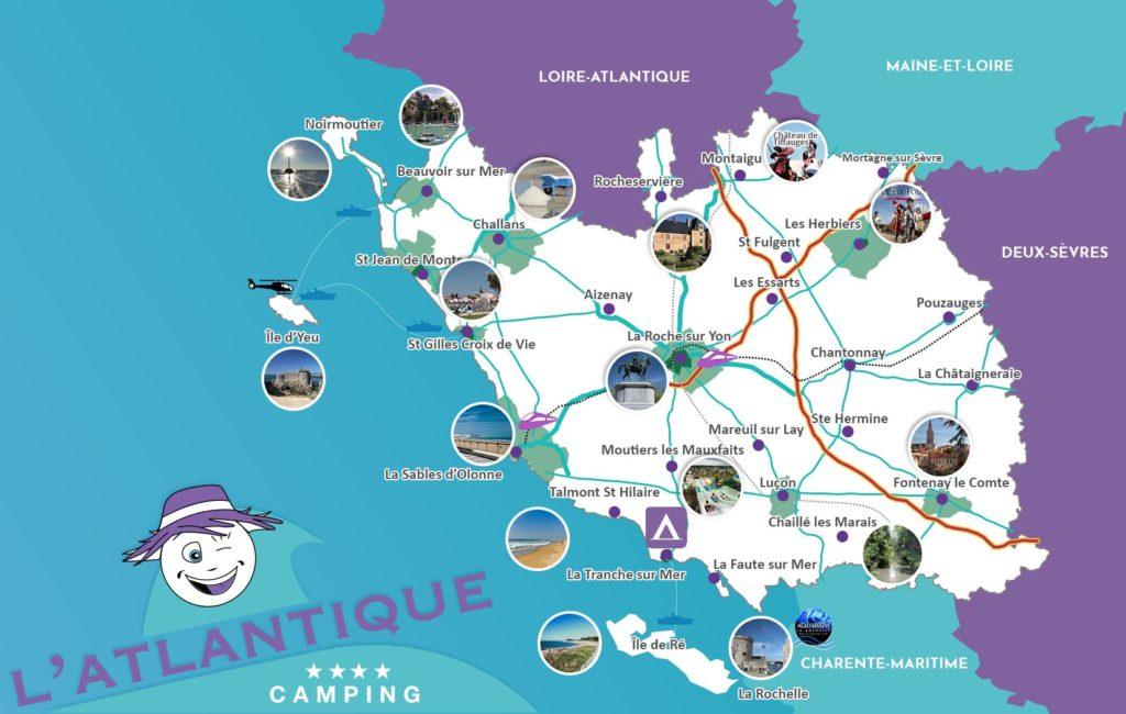 La Vendée Camping l'Atlantique