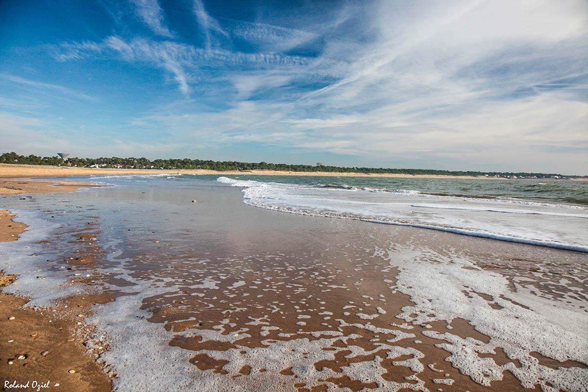 Les plages camping vend e camping atlantique c te vend enne - La tranche sur mer office de tourisme ...
