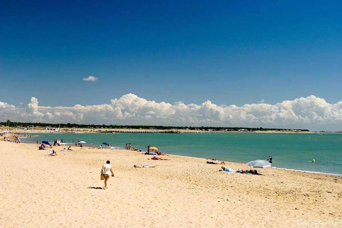 plage centre ville la Tranche sur Mer