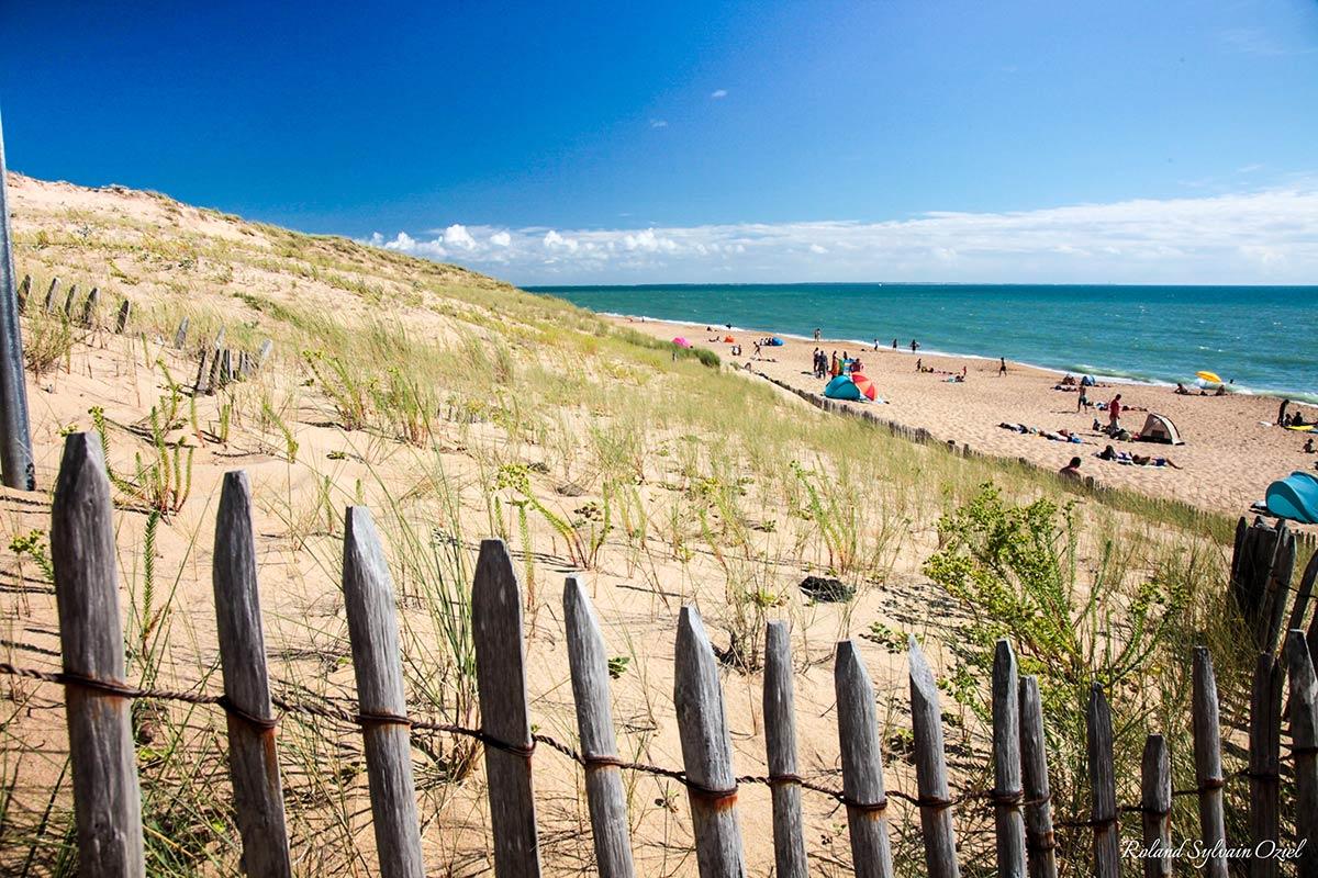 descente plage la tranche sur mer proche du camping