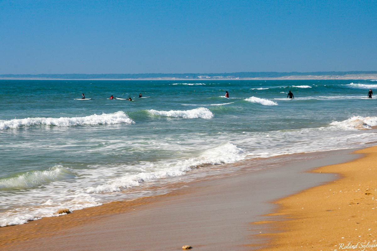 bain -plage la tranche sur mer