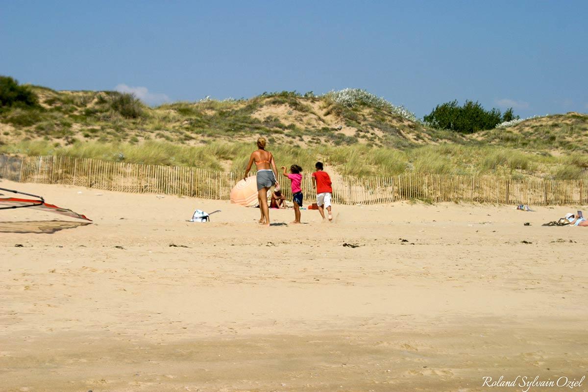 les plages de la tranche sur mer - remontée