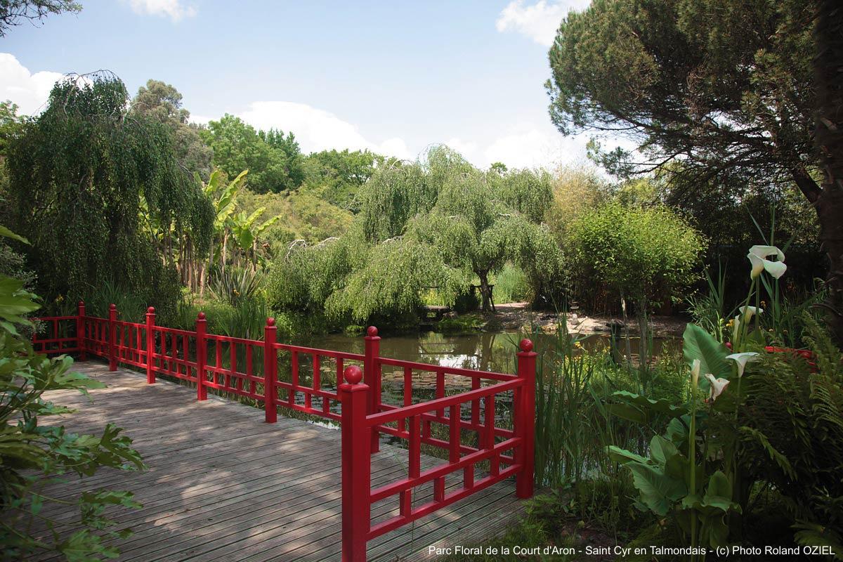 Parc floral de la court d Aron