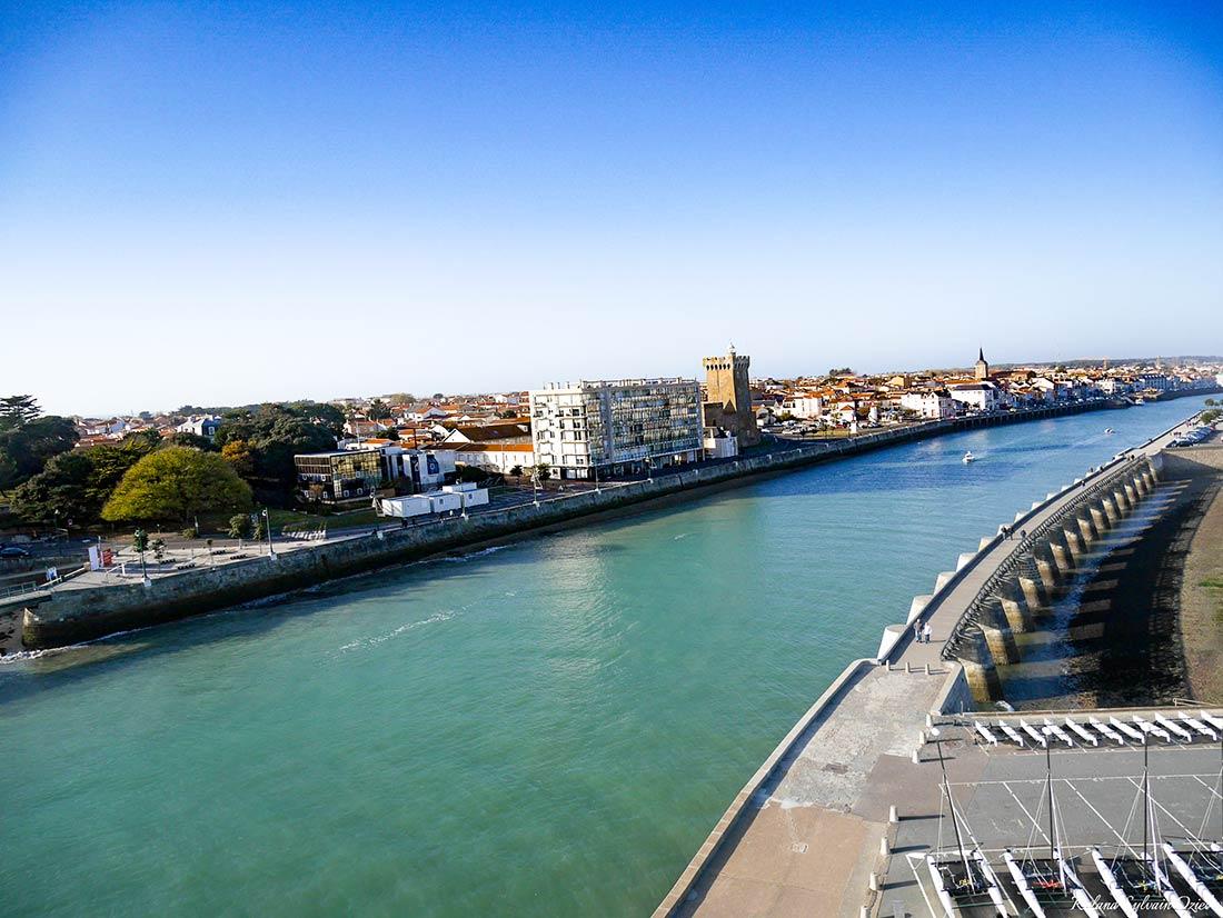 entree port Les Sables d'Olonne